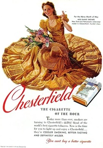 Chesterfield Cigarettes -1940D